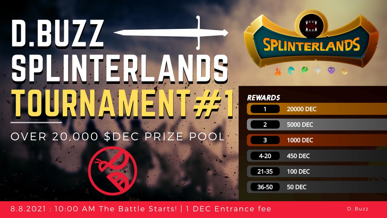 D.Buzz Splinterlands Tournament
