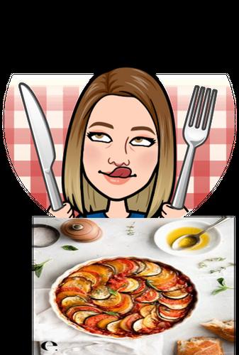 "The food I have never eaten but would like to try ""Ratatouille""./ La  comida que nunca he comido pero me gustaría probar ""Ratatouille"""