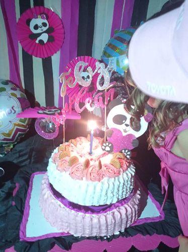 Celebrando el cumpleaños de la pequeña Lucia | Decorando