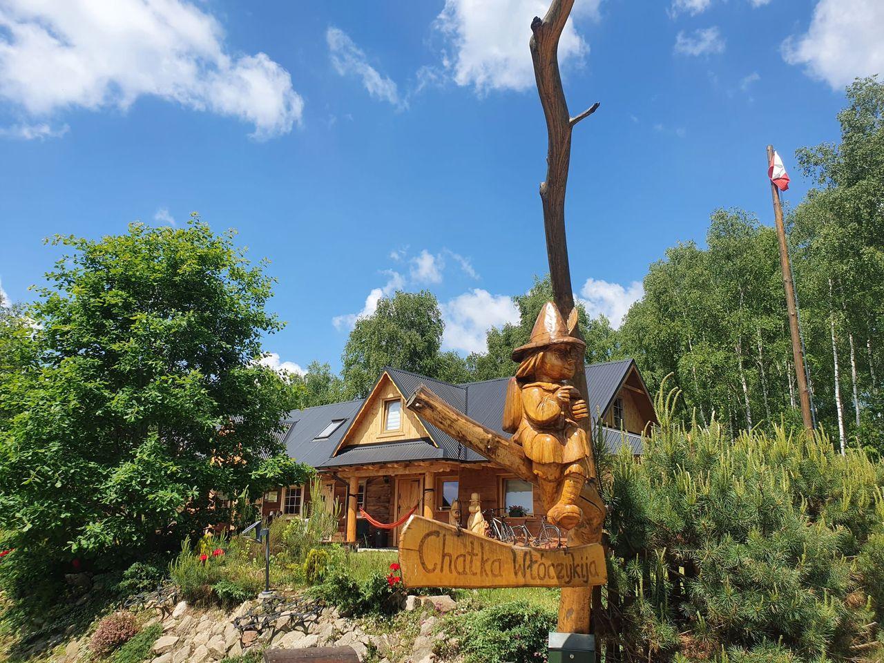 Chatka Włóczykija, Jamna