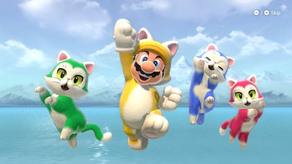 We collected all 100 Cat Shines in Bowser's Fury!