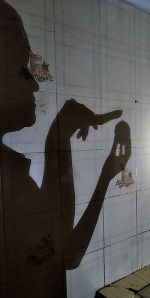 Women's shadow