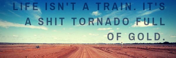 Life isn't a train. It's a shit tornado full of gold..png