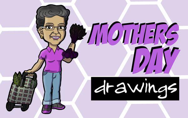 [ENG|ESP] Mother's Day Drawings #3| Dibujos del Día de la Madre #3.