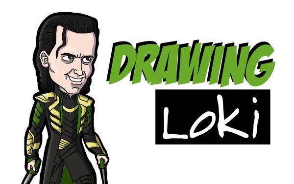 [ENG|ESP] Drawing Loki From The MCU | Dibujando Loki del UCM