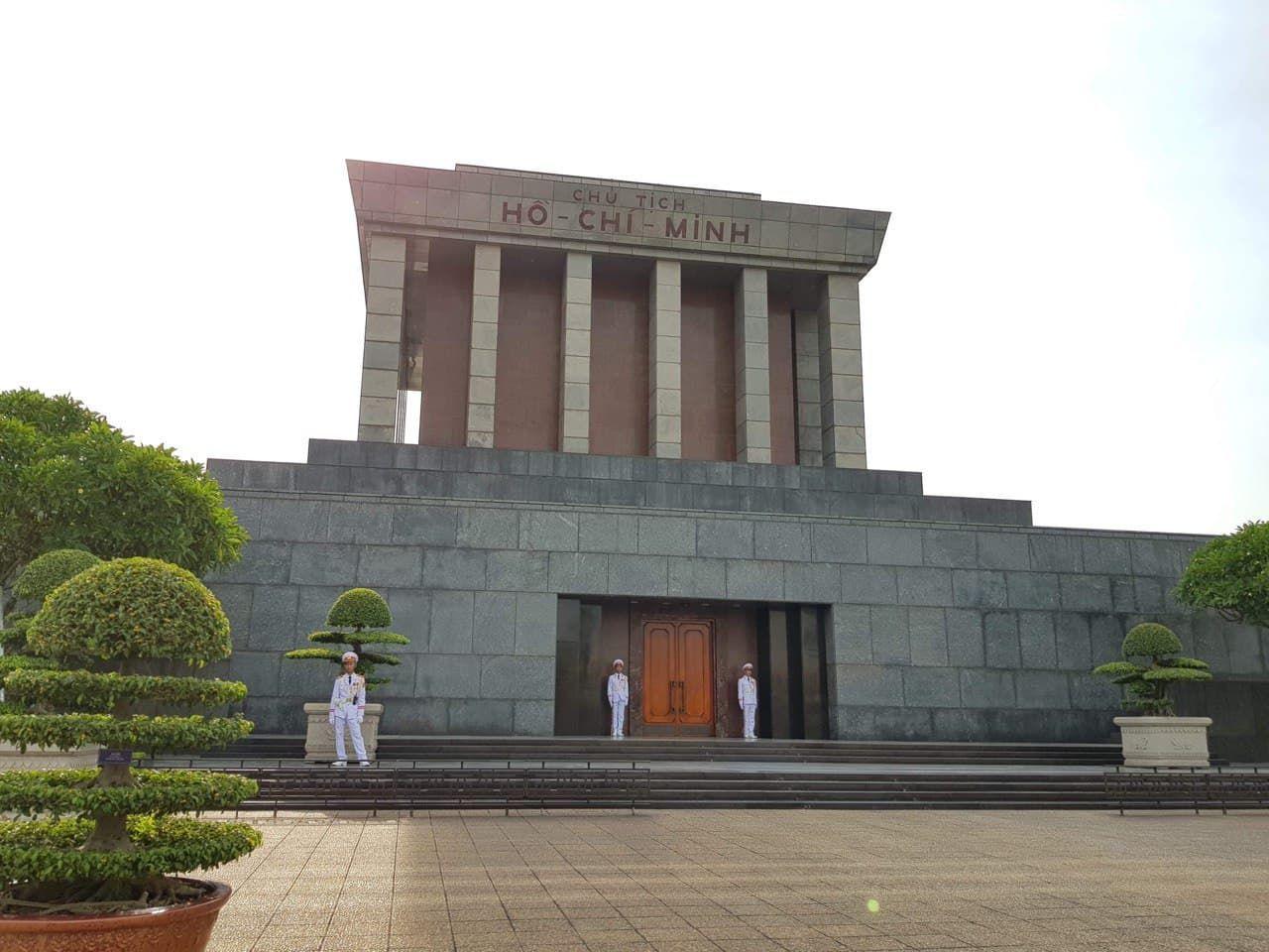 Ho Chi Mihn Mausoleum, Hanoi