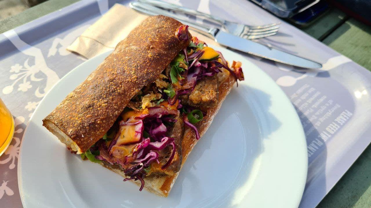 Chicken sandwich. Vad gott!
