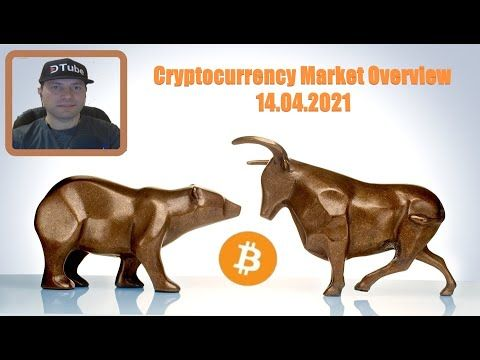 🎥 Cryptocurrency Market Overview | 14.04.2021