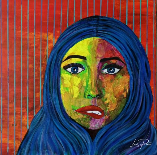 Resilient -Original acrylic artwork