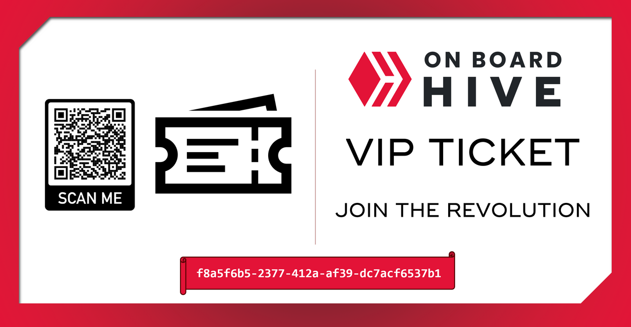 Sample VIP Ticket