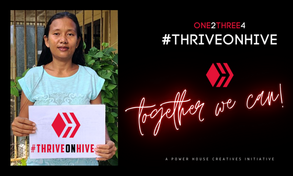 🖐️ My Five For #ThriveOnHive by @Sreypov