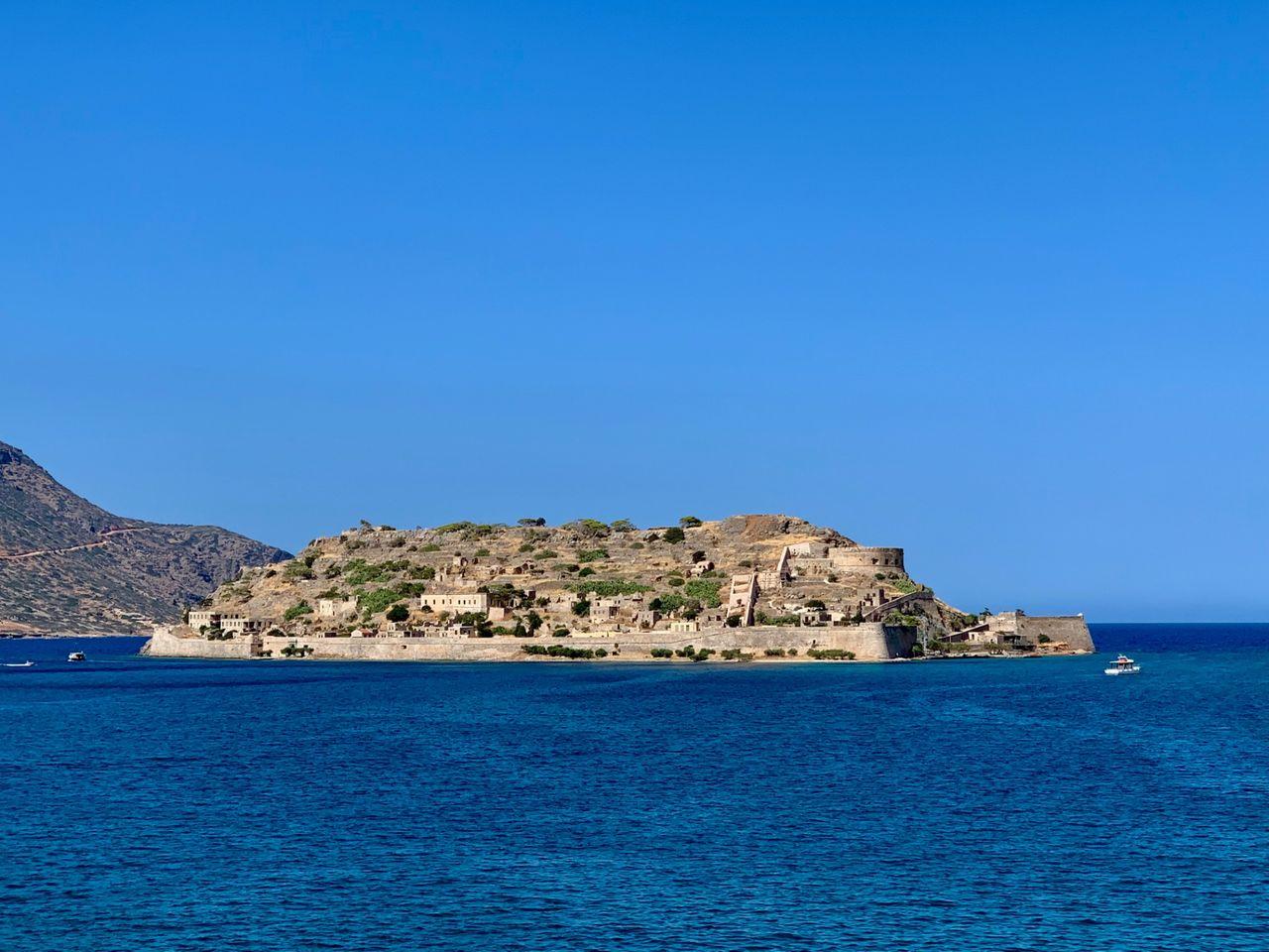 The island of Spinalonga close to Elounda