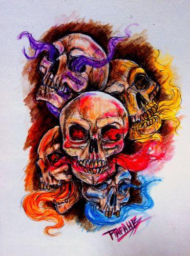 💀El alma tiene color👻/nuevo dibujo/@afa.hb03