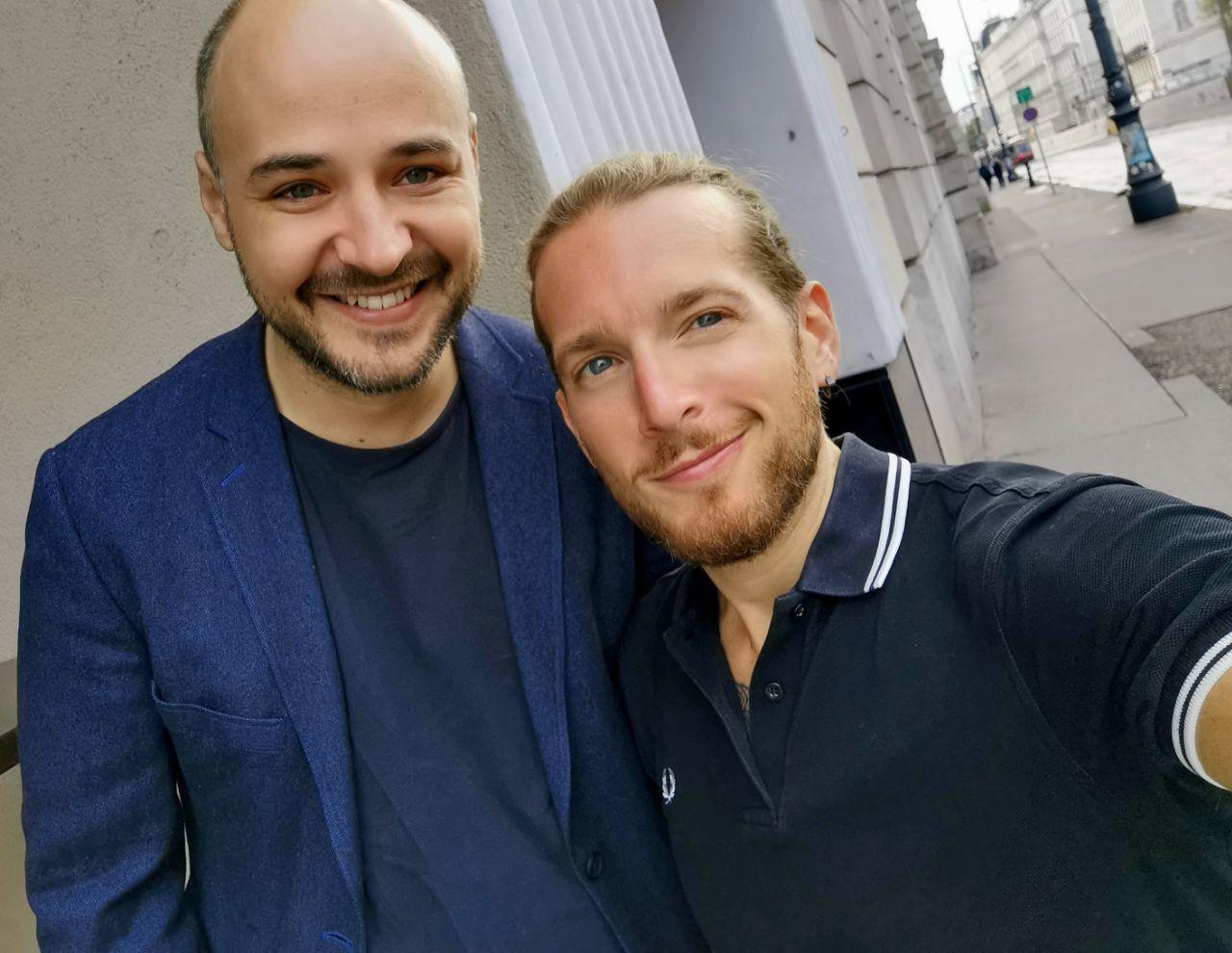 Selfie mit Mike Edison street.jpeg