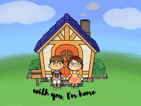 Art Attack! #68: With you, I'm home 🏡