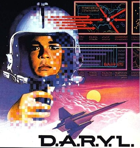 WOW!  The 1980's SCI-FI hit D.A.R.Y.L is being made into a new TV SERIES! ♥‿♥