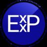 new Exxp logo, circle transparent background