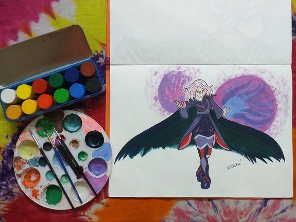 Splinterlands Monster Drawing of Mimosa Nightshade