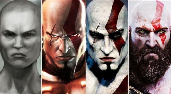 Kratos' story in God of War