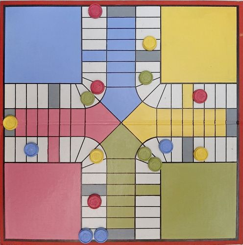 Parchis board recover // Tablero de Parchis recuperado