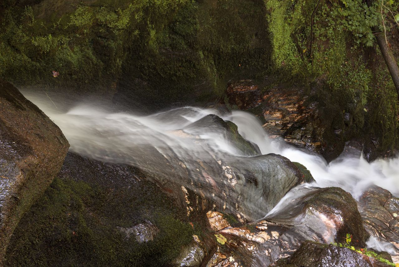Small is beautiful - at least small waterfalls do look often better