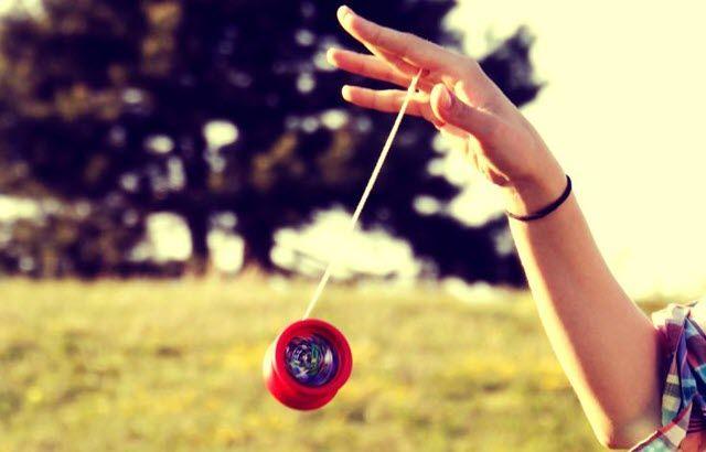 Lanzamiento del yoyo.