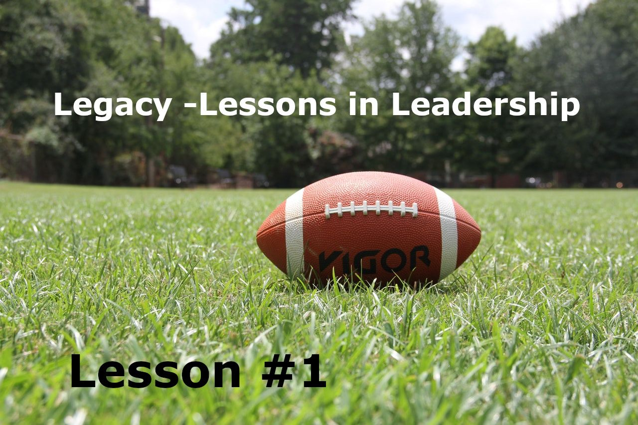Legacy Lesson 1