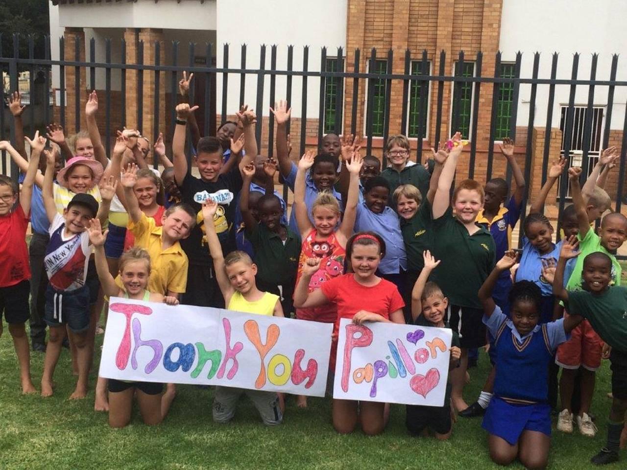 Ligstad kids says Thank you to papillon.jpg