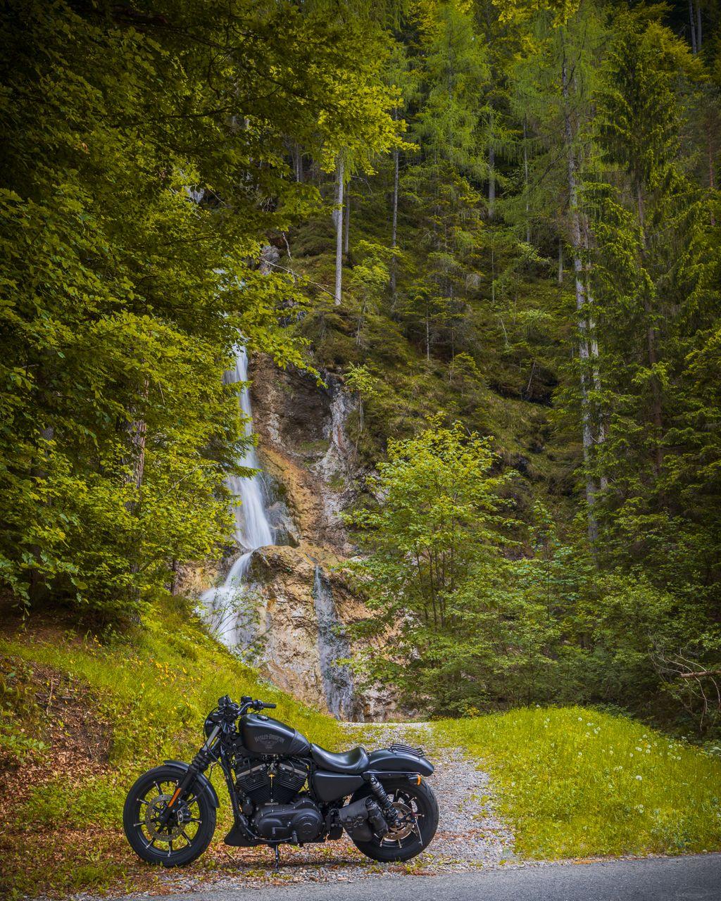 Waterfall Stockenboi and my Harley Davidson Sportster Iron 883 - XL883N