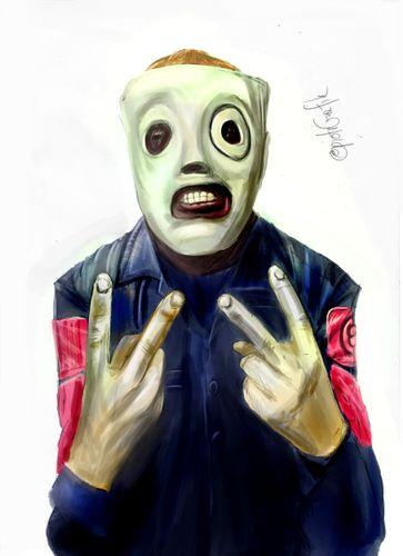 Corey Taylor - Slipknot - painting