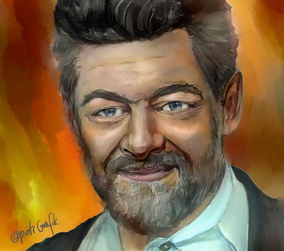 Andy Serkis - painting