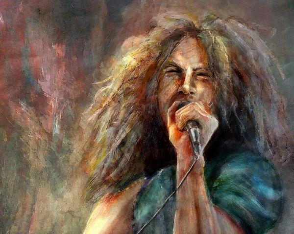 Robert Plant - painting