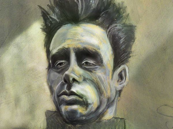 James Dean - drawing timelapse