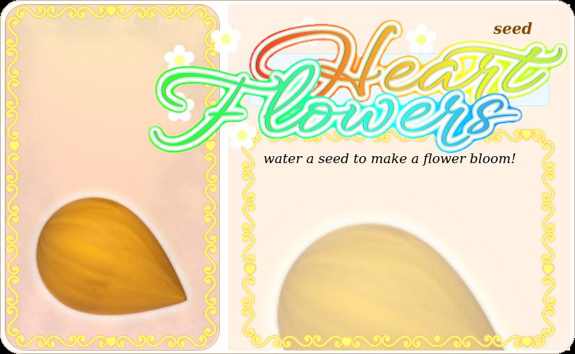 Heart Flower Seed