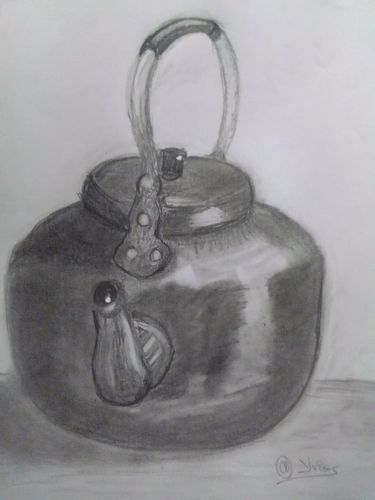 Drawing a kettle