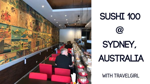Food Sharing #176 - Sushi 100 @ Sydney | Travelgirl 美食推介 - Sushi 100