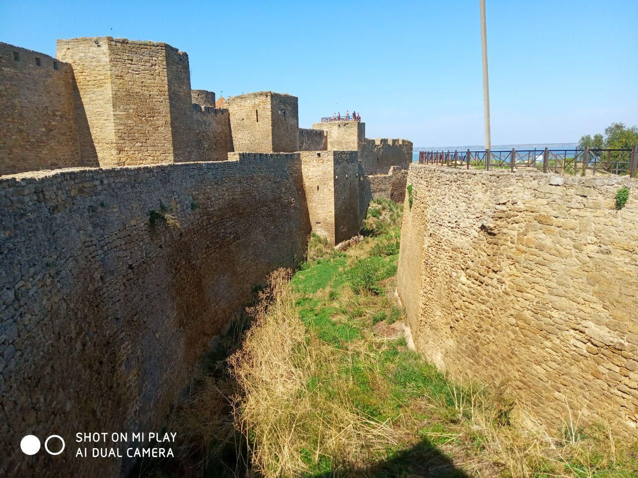 The most ancient fortress of Ukraine and Europe