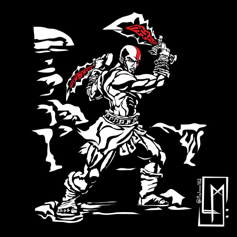 ⚡️ Kratos from God of War ⚔️