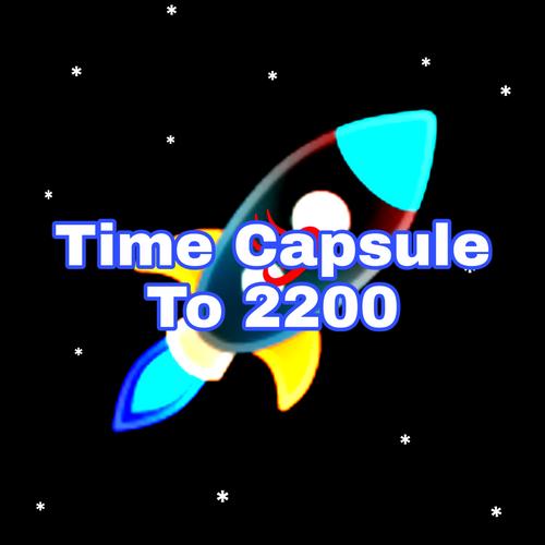 Digital Art: Time Capsule Rocket