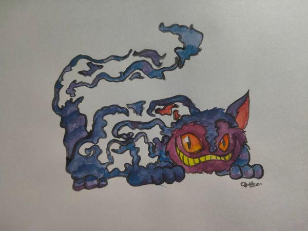 Splinterlands Art contest - Character drawing - FERAL SPIRIT
