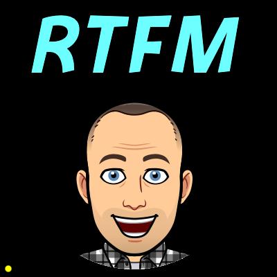 RTFM bitmoji