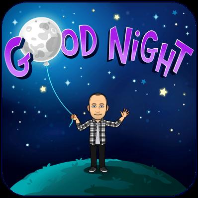 goodnight bitmoji