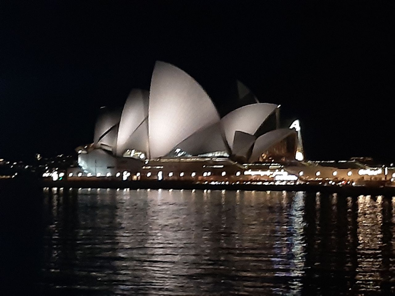 Sydney Opera House. My Mum helped to design the roof in the 1960s!