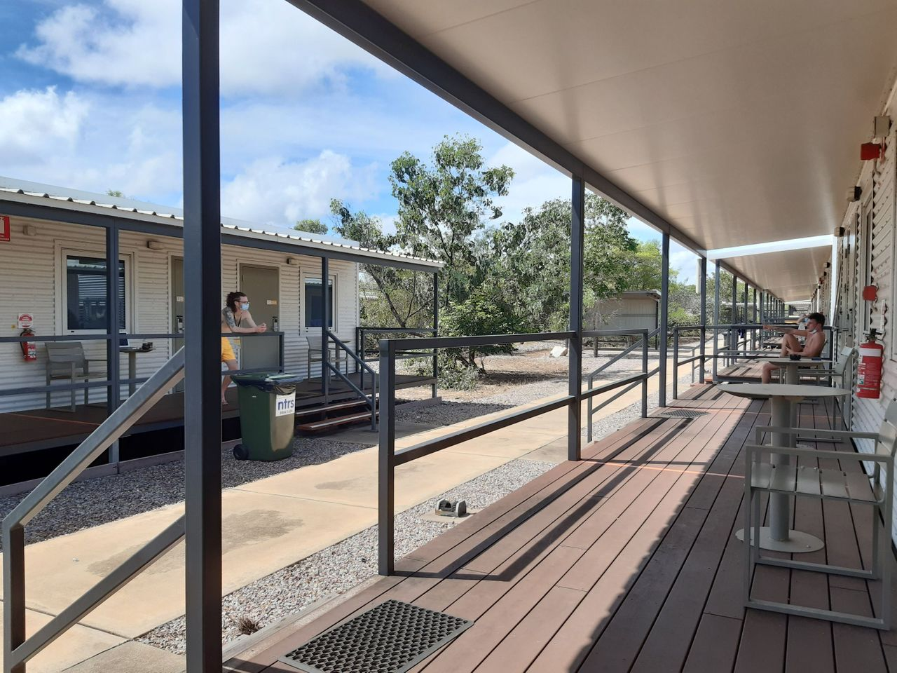 Started out in quarantine for 2 weeks in Darwin - Basically a prison!