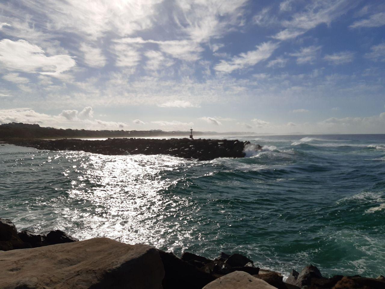 Beach Outlook Near The QLD Border