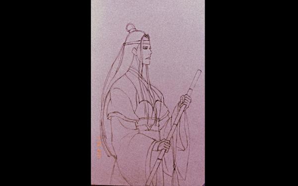 Lan Er-Gege | Mo Dao Zu Shi : Sketch ✨🧡💜