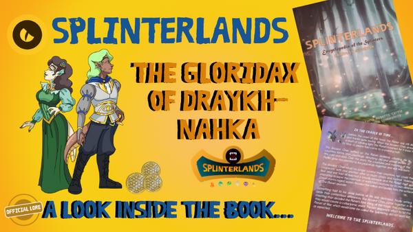 A Look Inside the Book - The Gloridax of Draykh-Nahka