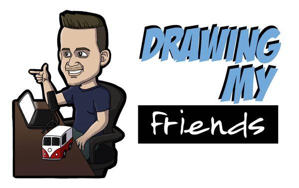 [ENG|ESP] Drawing David, my Friend Leunam's Brother-in-Law | Dibujando a David, el Cuñado de mi Amigo Leunam.