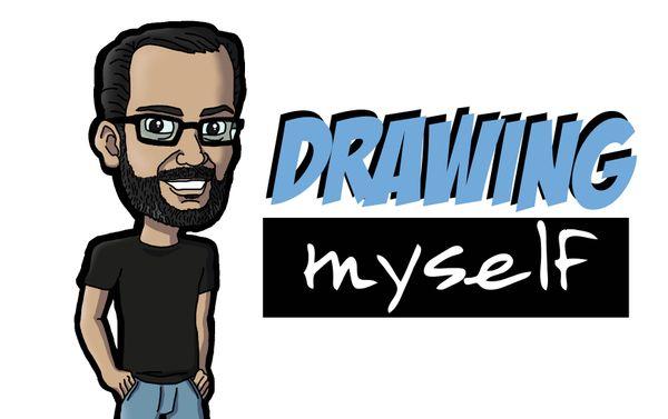 [ENG|ESP] Drawing Myself | Dibujándome a Mí Mismo.