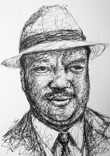 My Scribble Portrait Of Paul Winfield, The Legendary Actor .